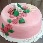 sokerimassa-syntymäpäiväkakku